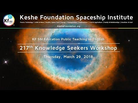 217th Knowledge Seekers Workshop - Mar 29, 2018