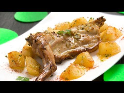 Receta de conejo asado con patatas - Karlos Arguiñano - YouTube