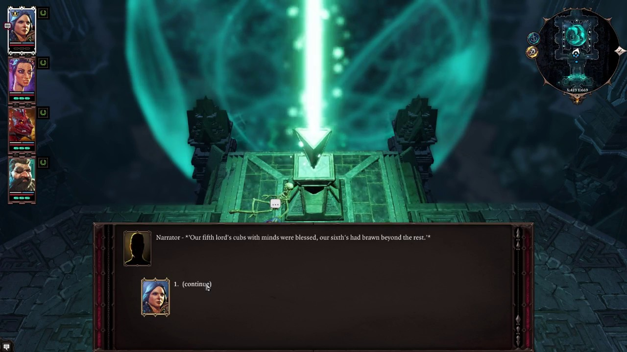 Repeat Divinity 2 - Blackpits Ancient Temple (Puzzle and