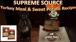 Supreme Source Turkey Meal & Sweet Potato Recipe Dog Food Review