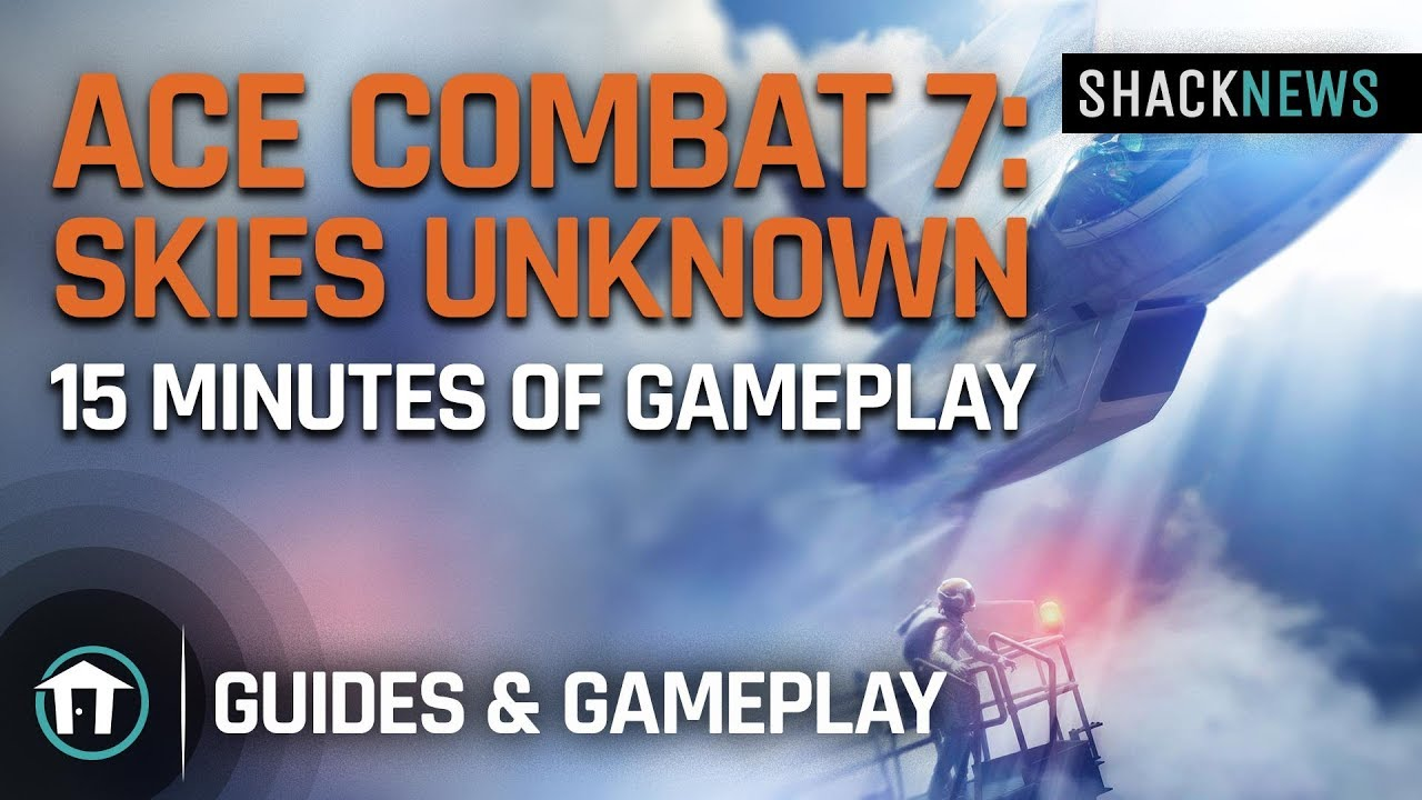 Ace Combat 7: Skies Unknown - 15 min Gameplay