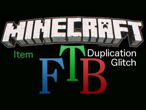 Minecraft FTB: Item Duplication Glitch Tutorial!   How To Save Money