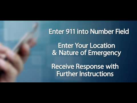 911 - Call If You Can Text If you Cannot