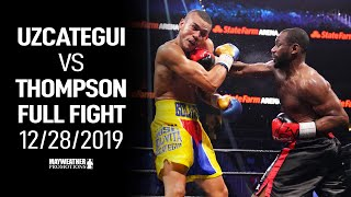 Jose Uzcategui vs Lionell Thompson (Full Fight) 12/28/19