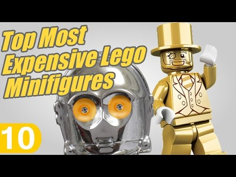 Daily 10's Top Ten Most Expensive Lego Minifigures 2016 - YouTube
