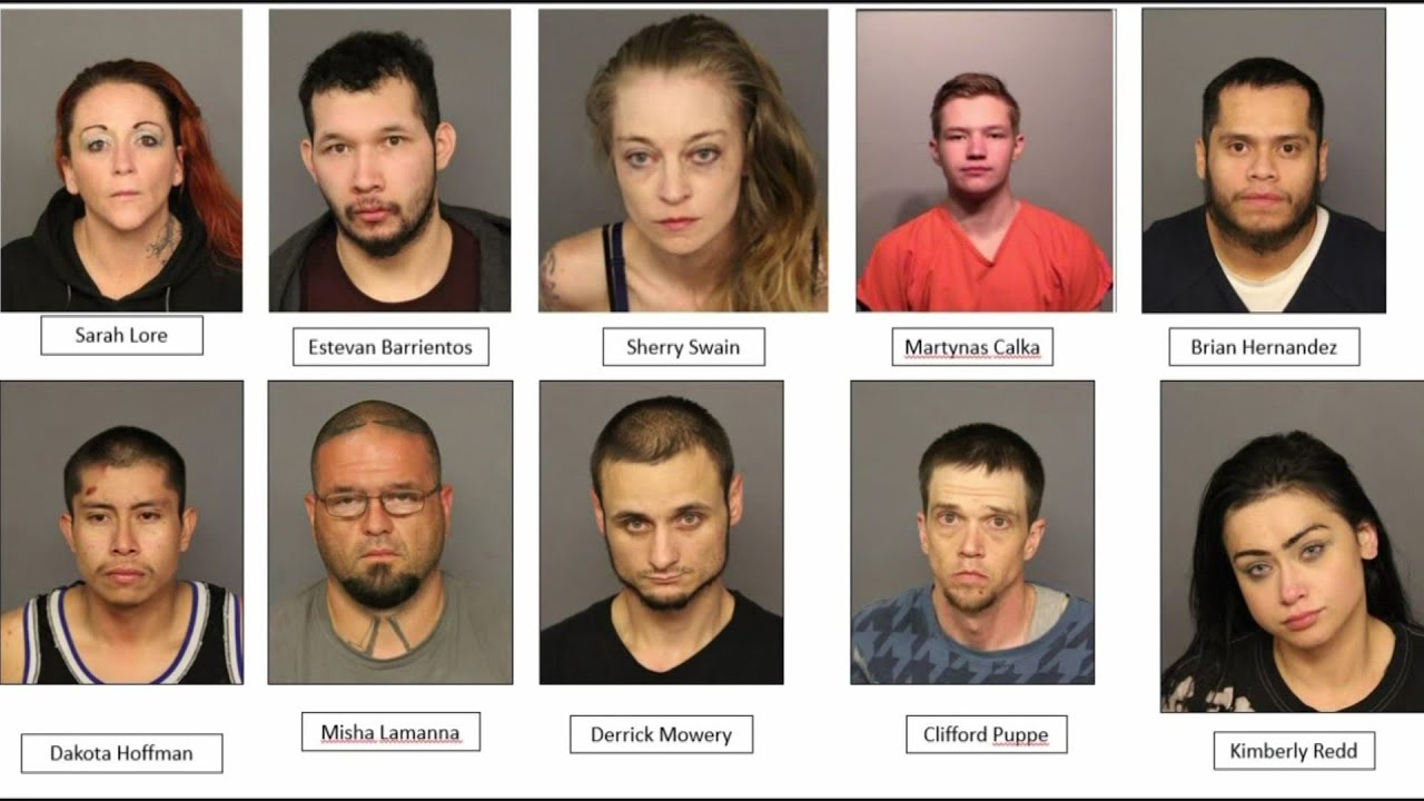 DA: 12 Members Of 'The Family' Accused Of Hundreds Of Crimes To Support Meth Addiction