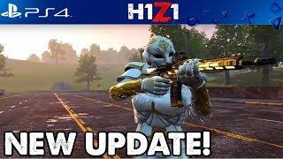 😇NEW H1Z1 PS4 UPDATE! 20 BOMBS OKOK