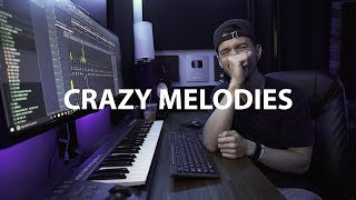 The CRAZIEST MELODIES I Have EVER MADE. (Making a beat fl studio tutorial)