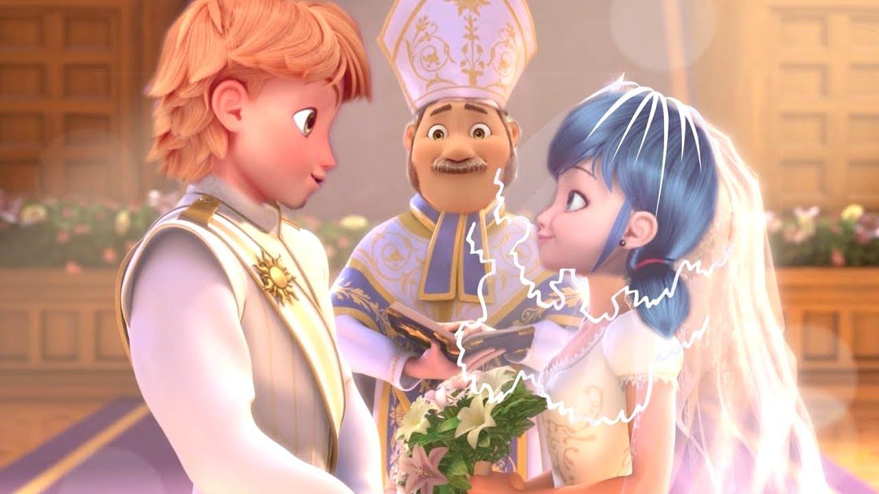 Marinette und Adrien heiraten! - Miraculous