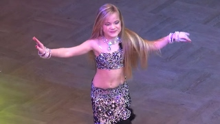 Tabla solo ☀ Milena Chipets ☀ Belly Dance Ukraine Championship ☀ FINAL Juvenals Solo First League