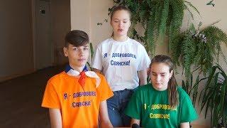 Волонтёрское движение в школе имени Дмитрия Перова