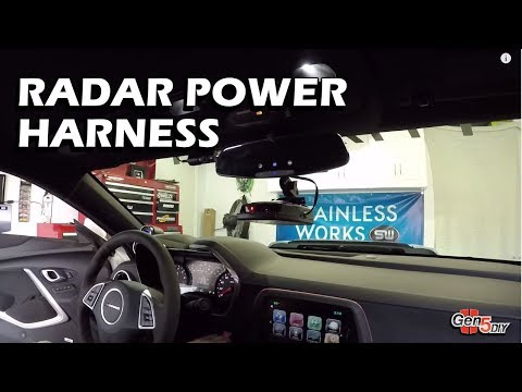Radar Detector Power Harness | Gen5 DIY