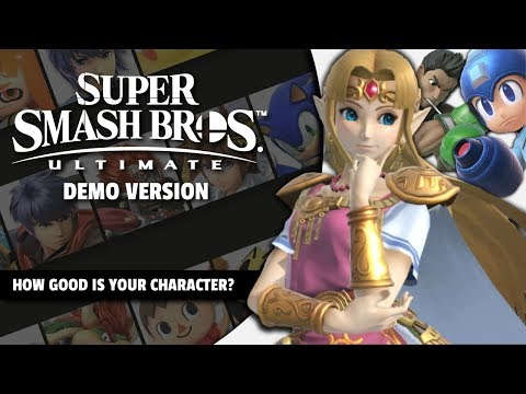 Smash Ultimate Demo Tier List by Mew2King & Salem - For Fun!
