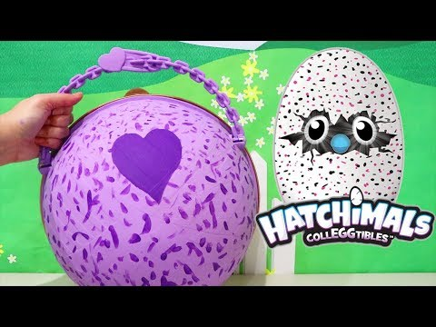 L.O.L. Big Surprise *Customized* DIY Ball With Hatchimals Toys and Surprise Eggs