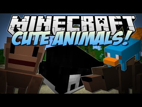 minecraft-|-cute-zoo-animals!-(ferocious-bear-attack!!)-|-mod-showcase