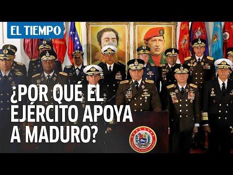 ¿Por qué el Ejército venezolano apoya a Maduro?   EL TIEMPO