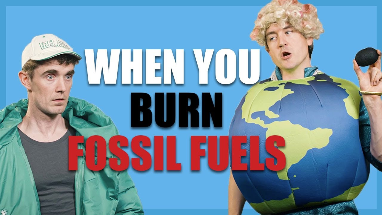 Mother Earth Catches Ireland Burning Fossil Fuels| Foil Arms and Hog