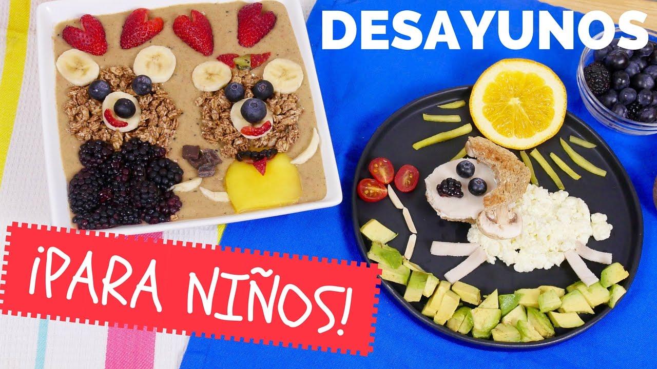 Desayunos para ni os saludables especial d a del ni o for En 8 dias cumplo anos