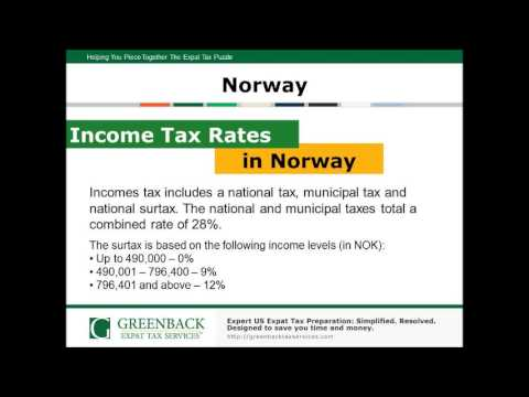 Top Tax Tips for Expats in Norway