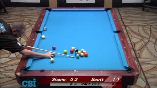 CSI 2013 US Open One Pocket Frost vs Van Boening