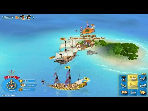 Sid Meier's Pirates! Gameplay Voor PC