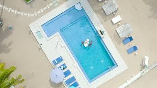 The Floating Breakfast at Jara Beach Resort