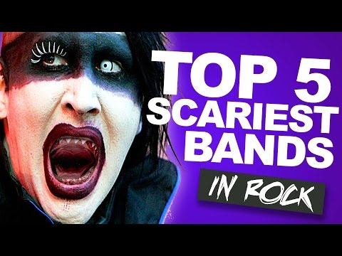 Top 5 Scariest Bands In Rock