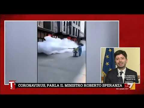 """Coronavirus, Roberto Speranza: """"Sorveglianza attiva sulle persone in arrivo dalla Cina"""""""