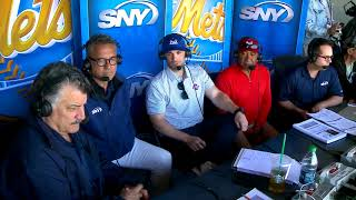 David Wright steps into SNY booth, talks about his life after baseball