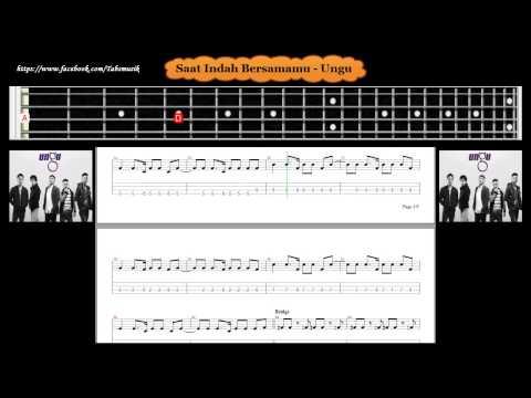 Bass - Saat Indah Bersamamu - Ungu ( Tab Bass Cover )