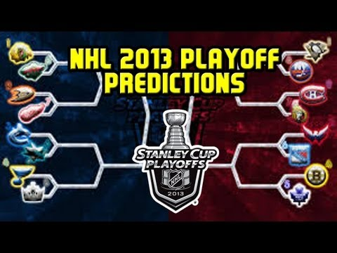 My NHL 2013 Stanley Cup Playoff Predictions !