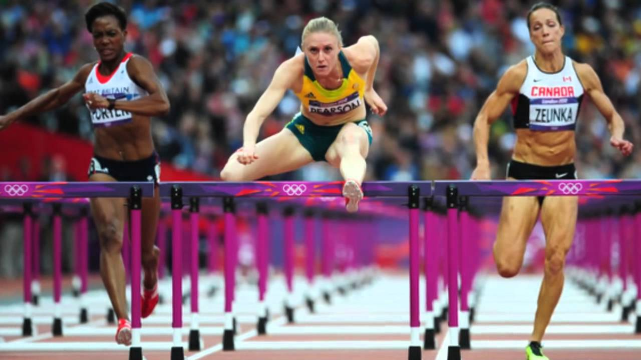 Sally Pearson Win Gold Medal Women's 100m Hurdles Olympic ...
