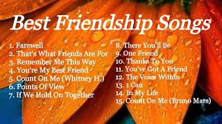 BEST FRIENDSHIP SONGS   NON-STOP