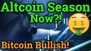 Altcoin Season Finally Here?? Bitcoin Looking Bullish! (Cryptocurrency News + BTC Trading Analysis)