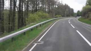 Bus Ride from Aberystwyth to Llandrindod Wells along the A44. -  28th May 2013
