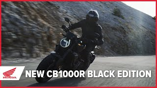 The New 2021 CB1000R Black Edition Launch Film