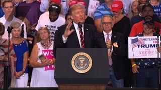 Trump Lashes at Media Over Charlottesville