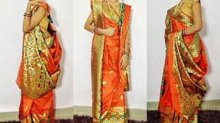 How to wear bengali saree/ Ben…