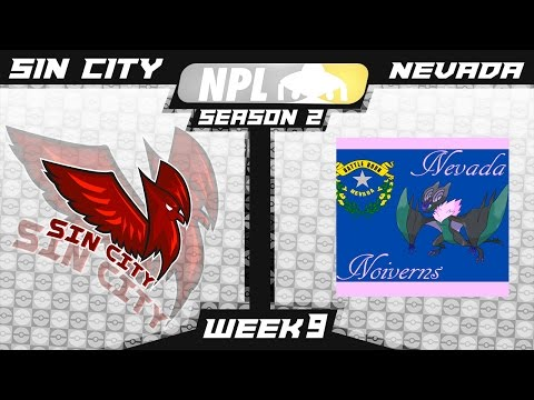 """WHAT MECHANIC IS THIS?!"" National Pokemon League Week 9 Sin City Staraptors VS Nevada Noiverns!"