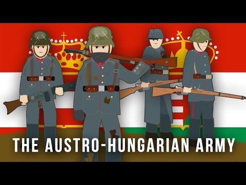 WWI Factions: The Austro-Hungarian Army