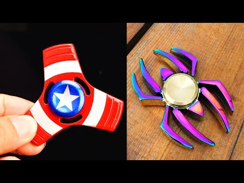SPINNER vs 1000 PETARD! EXPLOSIVE EXPERIMENT! Superhero spinners with Aliexpress. Fidget spinner