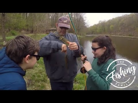 Kids Fly Fishing Lessons: Teaching Kids How To Fly Fish For Bluegill