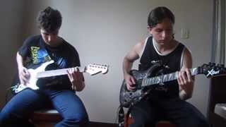 Amon Amarth - War Of The Gods - All Guitars Cover (backing track)