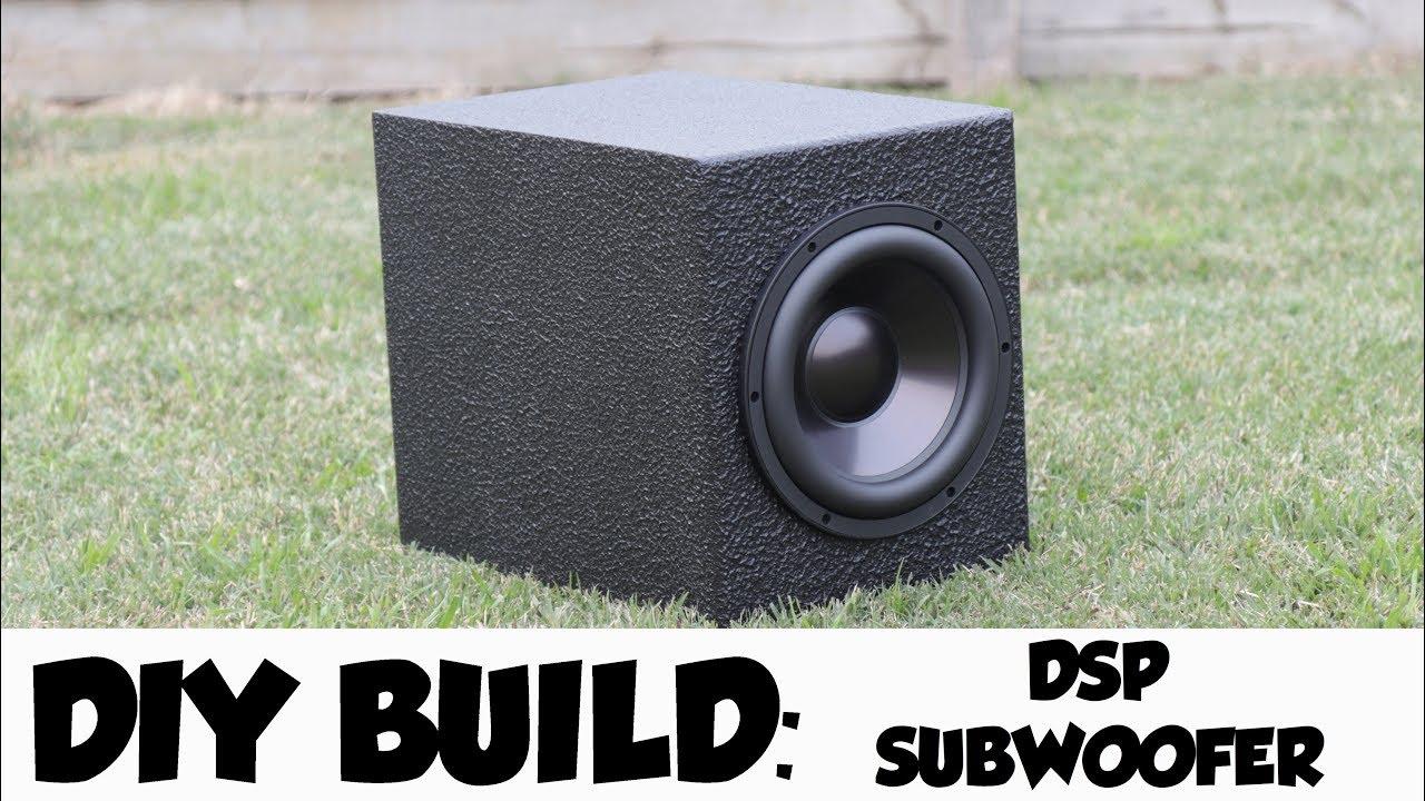 DIY - STUDIO MONITOR SUBWOOFER BUILD! - YouTube