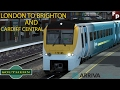 Train simulator 2017/ Lndon to Brighton & South Wales Costal route/ live