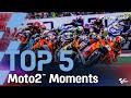 Top 5 Moto2™ Moments   2021 #SanMarinoGP MP3