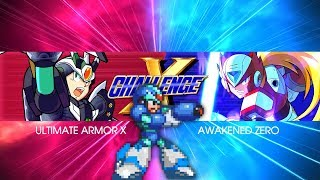 X Challenge Stage 9 - Hard Mode, Buster/No Special Weapons (Mega Man X Legacy Collection)