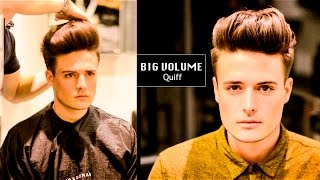 Tight Faded Undercut | BIG VOLUME Quiff - Mens Haircut and Hairstyle