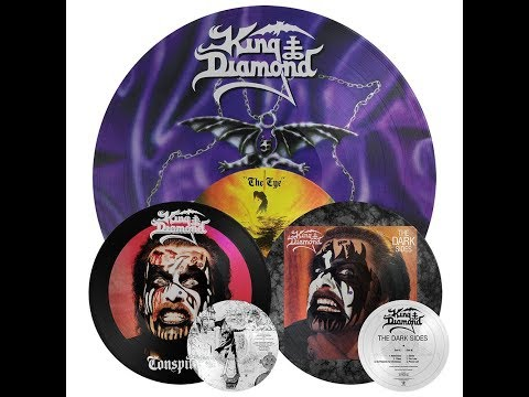 King Diamond: 'Conspiracy', 'The Dark Sides', 'The Eye' LP re-issues now available!
