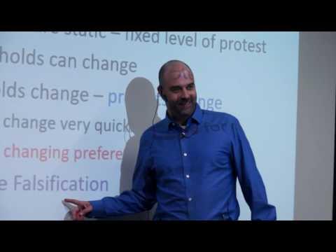 Protests and Social Media. Professor Joshua A. Tucker at Ukraine Catholic University, Lviv